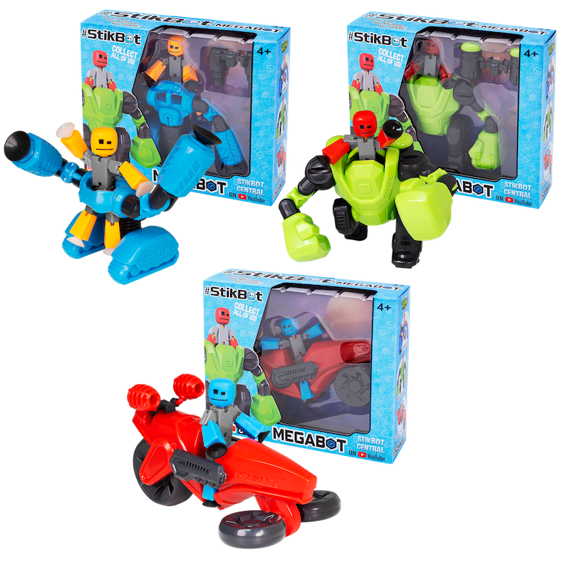 NYTF 2020 – Zing – StikBot MegaBot Figures Official Press Release