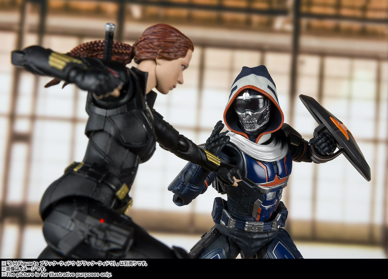 Bandai Tamashii Nations S.H. Figuarts – Black Widow Movie – Black Widow & Taskmaster Figures