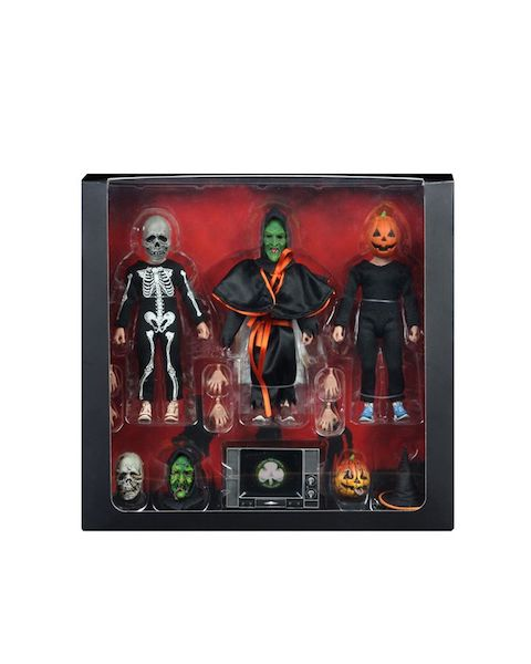 NECA Toys Halloween 3: Season Of The Witch 8″ Scale Figures Available Now