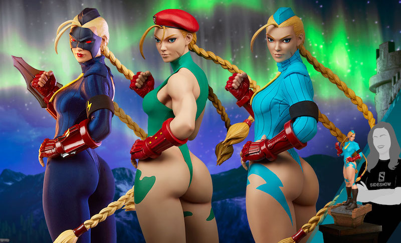 Pop Culture Shock – Street Fighter Cammy: Evolution Collectible Set Pre-Orders