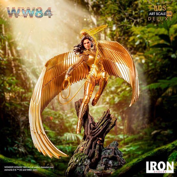 Iron Studios – Wonder Woman Deluxe Art Scale 1/10 Statue Pre-Orders