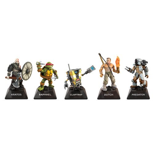 Boop Toys – Mega Construx Heroes Wave 2 Figures In-Stock