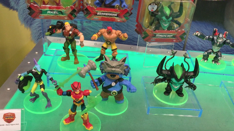 NYTF 2020 – Playmates Toys – Power Players, Ben 10 & Rise Of The Teenage Mutant Ninja Turtles Video Walkthrough