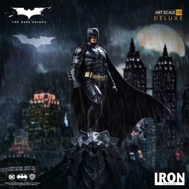 Iron Studios – Batman The Dark Knight Deluxe Art Scale 1/10 Statue Pre-Orders