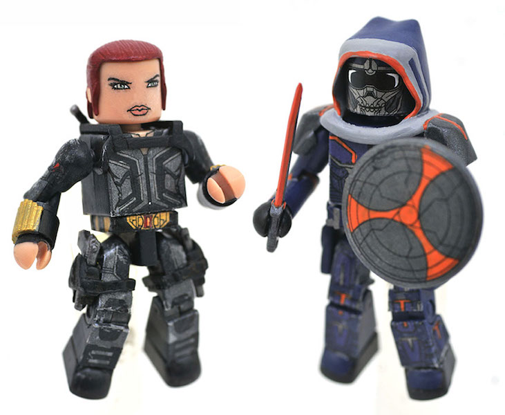 Diamond Select Toys – Black Widow Minimates Available At Walgreens Stores