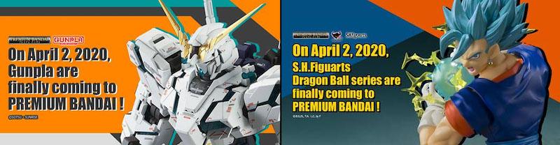 Bandai Brings Premium Exclusives To U.S. Customers