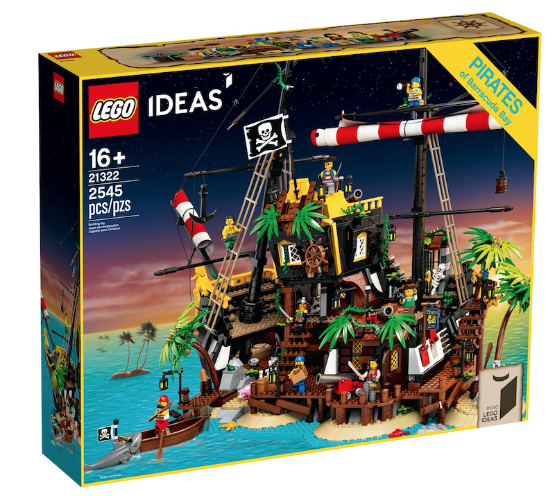 LEGO Pirates Of Barracuda Bay Set Coming April 1st