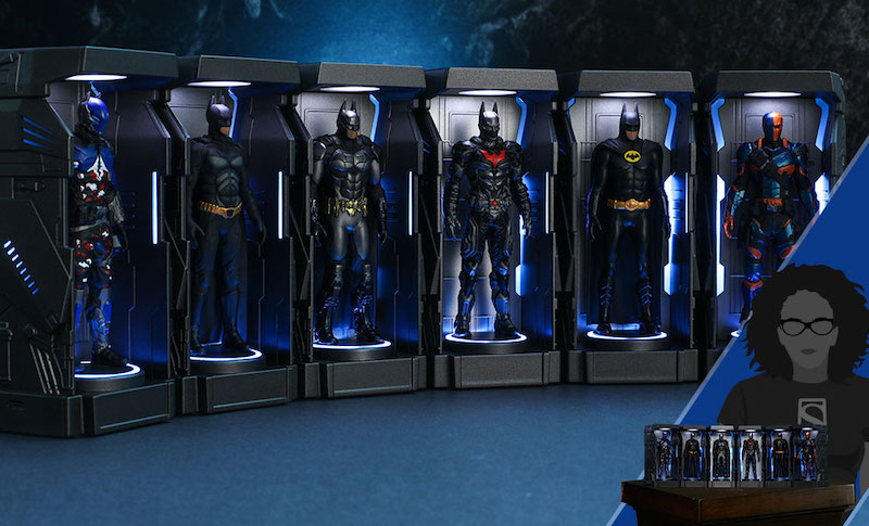 Hot Toys Batman: Arkham Knight Armory Miniature Collectible Set Pre-Orders