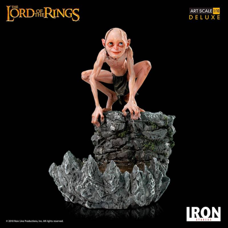 Iron Studios – Lord Of The Rings Gollum Deluxe Art Scale Statue Pre-Orders & Exclusive Coupon Code