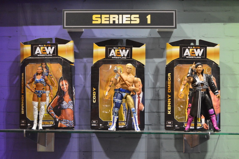 NYTF 2020 – Jazwares All Elite AEW Wrestling, Fortnite & G.I. Joe Update