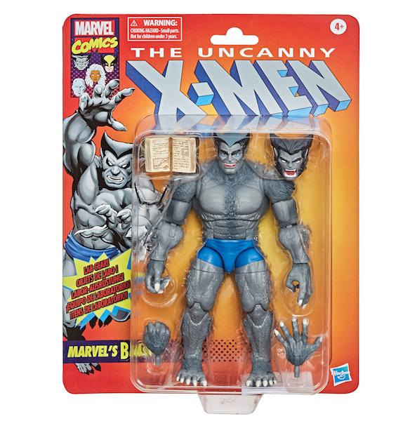 Hasbro Marvel Legends Vintage 6″ Scale Marvel's Beast Figure