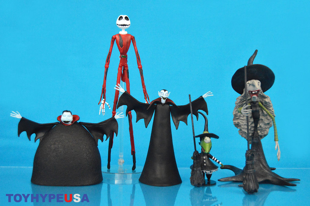 Diamond Select Toys – The Nightmare Before Christmas Select Series 8 Figures Review