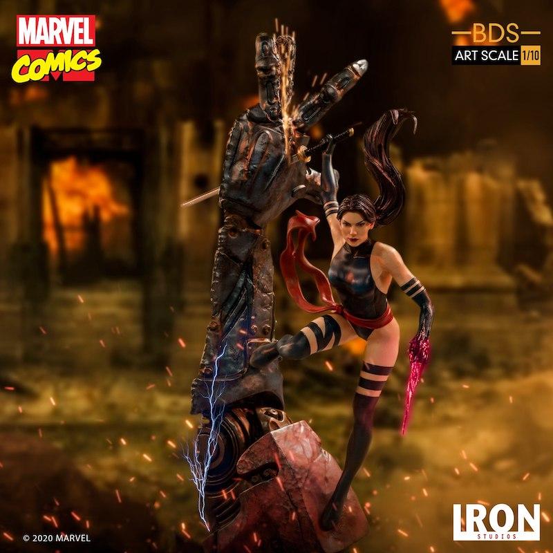 Iron Studios – Marvel Comics X-Men Art Scale 1/10 Psylocke Statue Pre-Orders & Exclusive Coupon Code