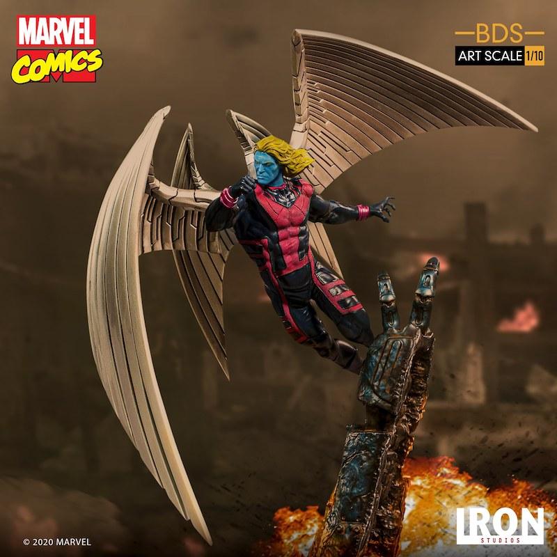 Iron Studios – Marvel Comics X-Men Art Scale 1/10 Archangel Statue Pre-Orders & Exclusive Coupon Code