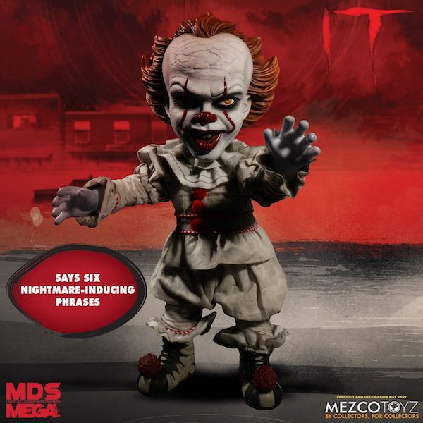 Mezco Toyz – Designer Series Mega Scale Talking Pennywise Figure