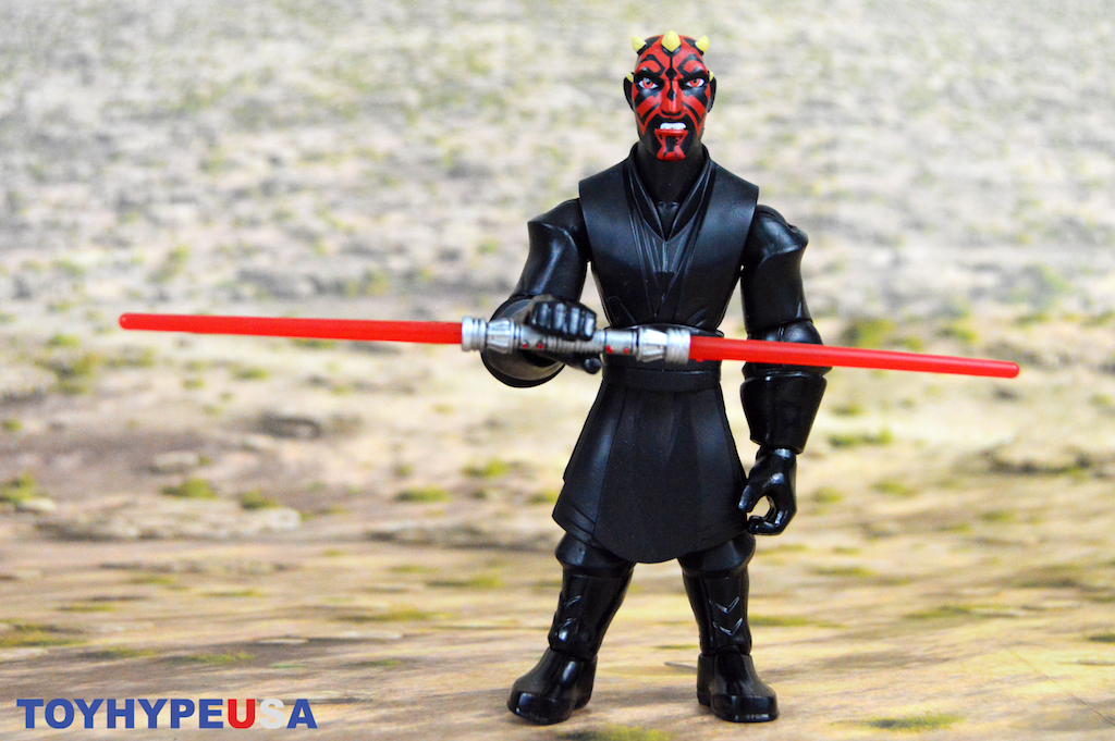 Disney Store Exclusive – Star Wars Toy Box Darth Maul Figure Review