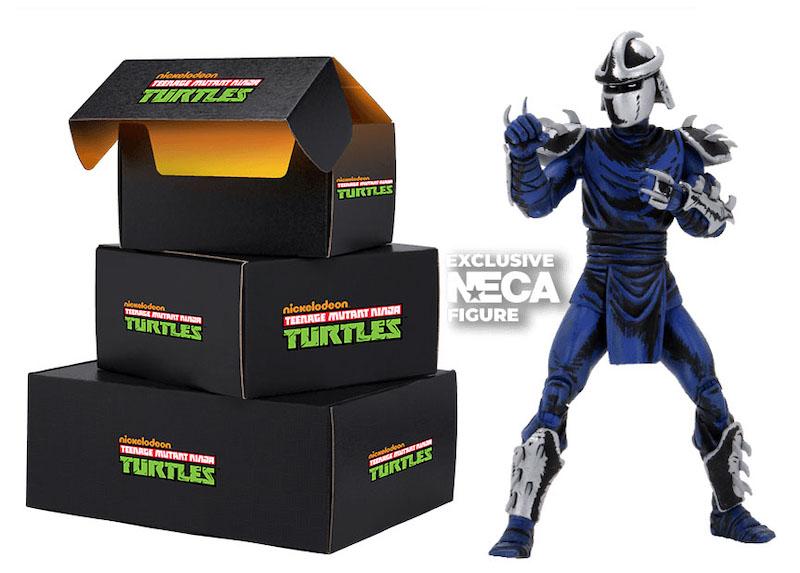 NECA Toys Teenage Mutant Ninja Turtles Loot Crate Exclusive Figures Announced