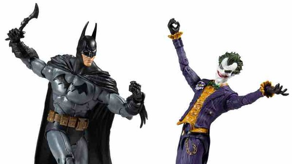 McFarlane Toys – DC Multiverse Batman: Arkham Asylum Batman & Joker Figures $15.99 On Amazon