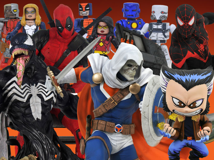 Diamond Select Toys Solicitations For August 2020 – Marvel, John Wick, DC, Star Wars & More