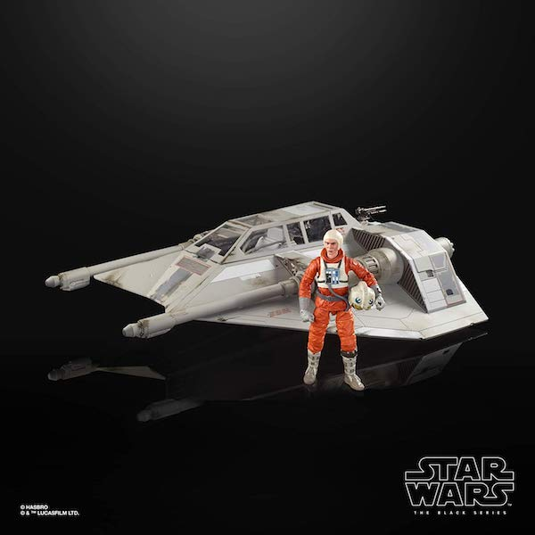 Hasbro Star Wars The Black Series 6″ Snowspeeder Vehicle With Dak Ralter Figure Ships July 12th From Amazon