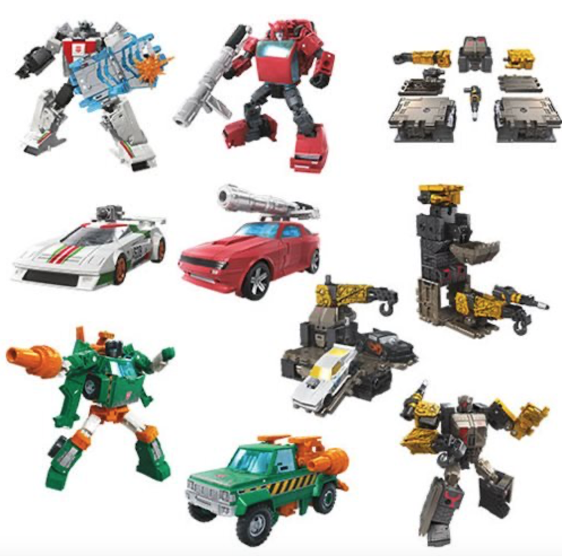 Entertainment Earth – Transformers War For Cybertron: Earthrise Deluxe Wave 1 Figures In-Stock