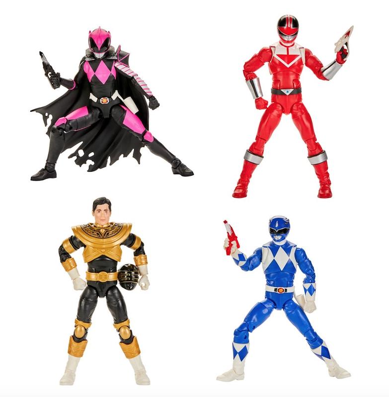 NYTF 2020 – Hasbro Power Rangers Lightning Collection Wave 5 Figures