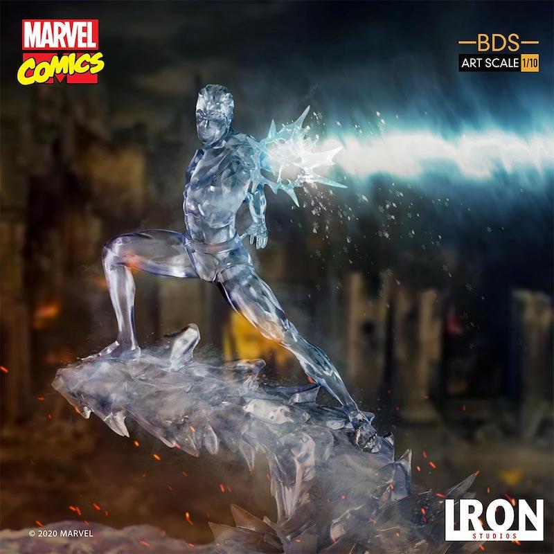 Iron Studios – Marvel Comics X-Men Iceman Art Scale 1/10 Statue Pre-Orders & Exclusive Coupon Code