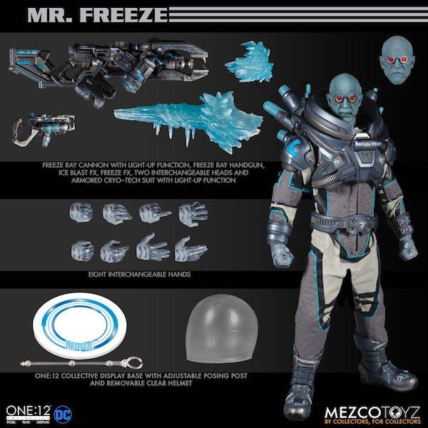 Mezco Toyz DC Comics – Mr. Freeze One:12 Collective Figure