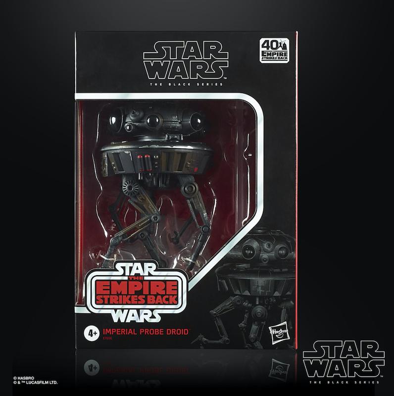 Hasbro Star Wars The Black Series 6″ Imperial Probe Droid Probot Figure Now $27.99 On Amazon