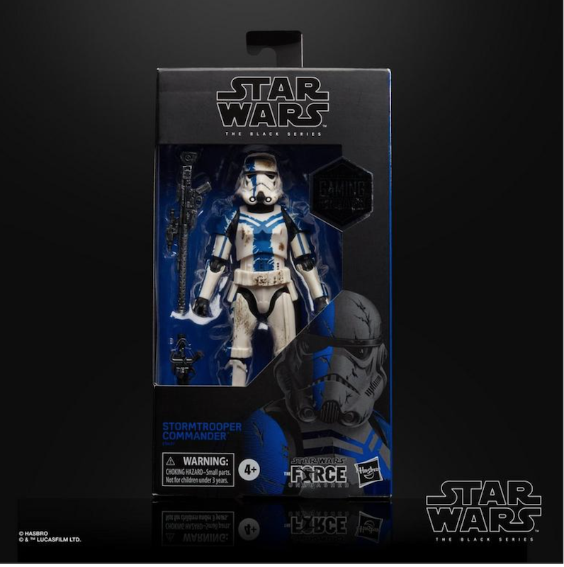 GameStop Exclusive Star Wars TBS – The Force Unleashed Stormtrooper Commander Figure In-Stock