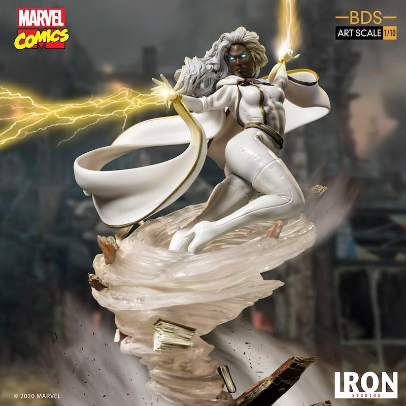 Iron Studios – Marvel Comics X-Men Art Scale 1/10 Storm Statue Pre-Orders & Exclusive Coupon Code