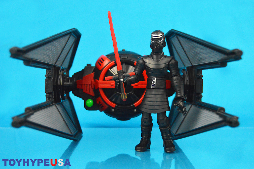 Disney Store Exclusive Star Wars Toy Box Kylo Ren With TIE Fighter Review