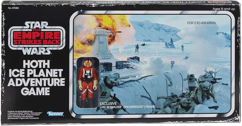 Hasbro Star Wars Retro Collection Hoth Ice Planet Adventure Game Pre-Orders On Amazon
