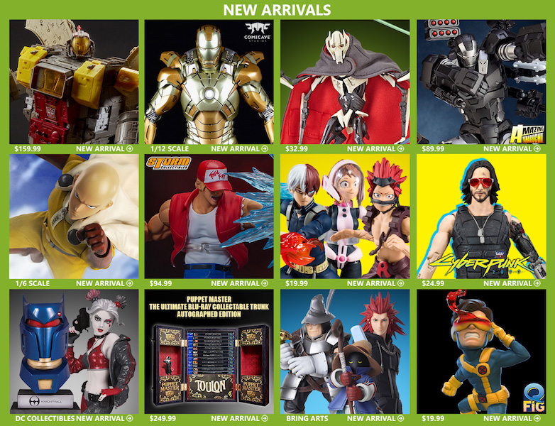 BigBadToyStore – Marvel Legends, One:12 Collective, Mega Construx, DC Multiverse & More
