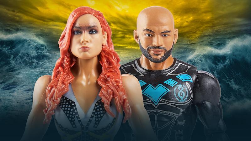 Mattel – WWE Basic Series 109 Figures