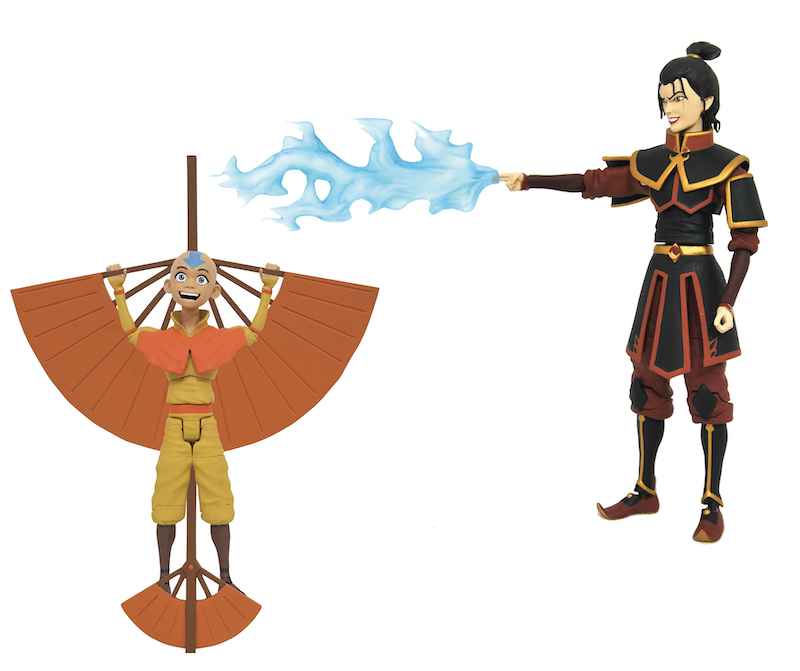 Diamond Select Toys – Avatar: The Last Airbender Select Series 2 Figures