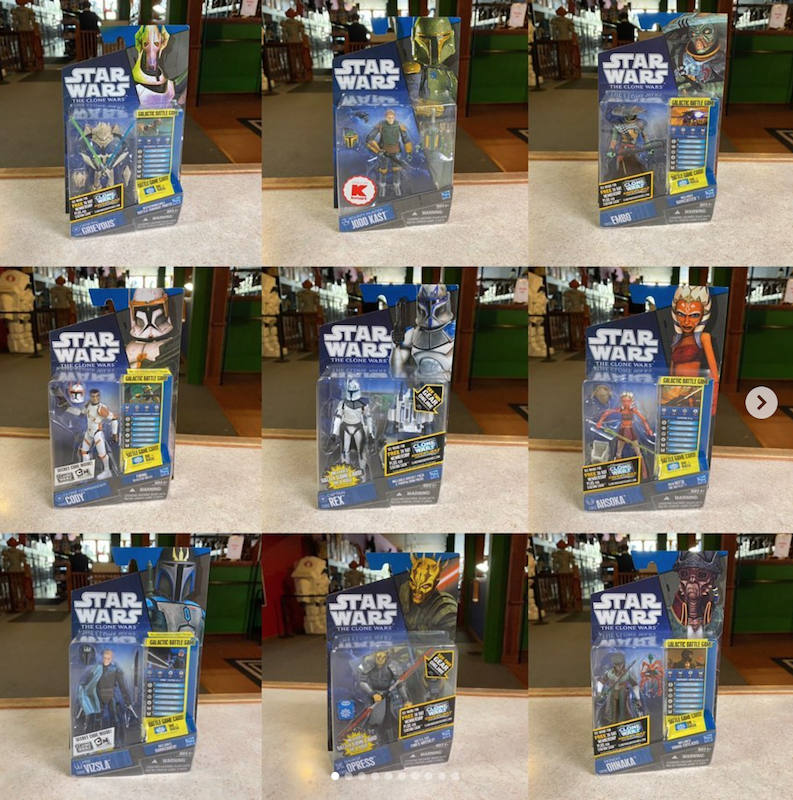 Kokomo Toys eBay Store – Star Wars The Clone Wars & The Vintage Collection Figures