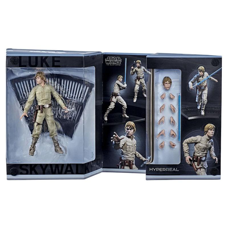 Hasbro Star Wars The Black Series HyperReal Luke Skywalker Figure