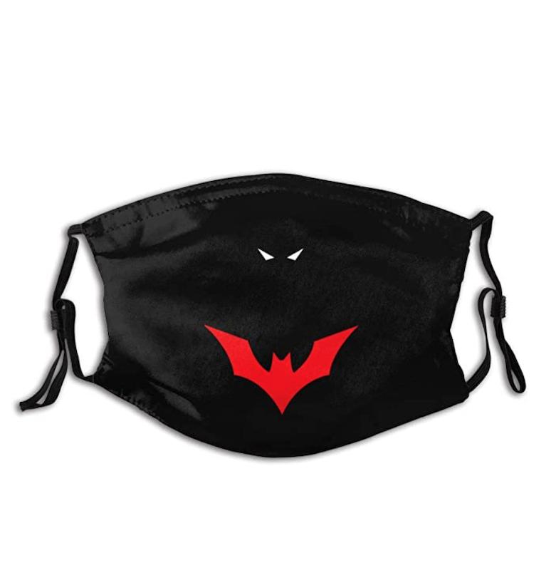 LEHUa Batman Beyond Adult Dust Face Mask Adjustable Elasticity With Buckle Black Mask On Amazon