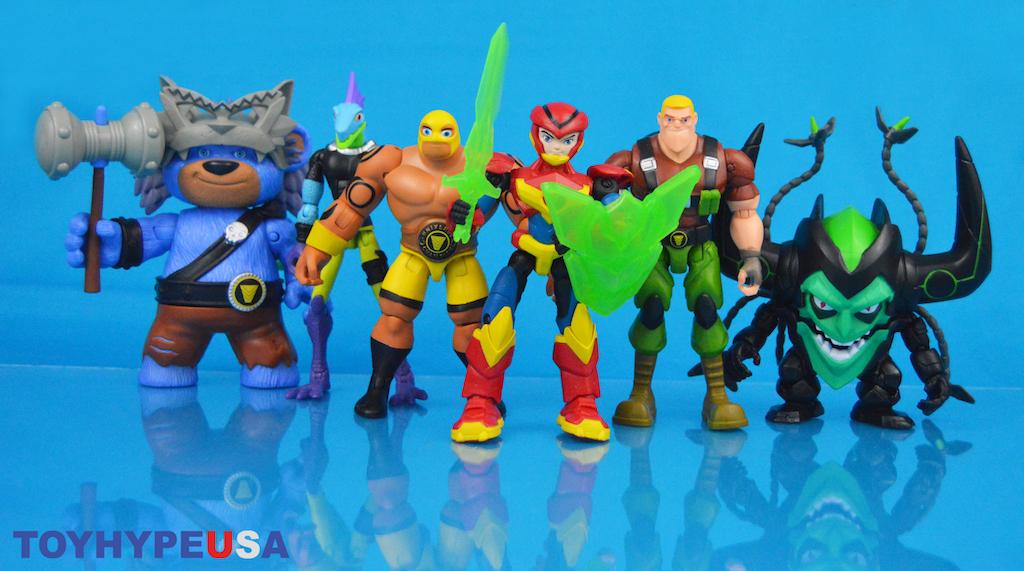 Playmates Toys – Power Players Axel, Bearbarian, Galileo, Sarge, Madcap & Masko Figures Review