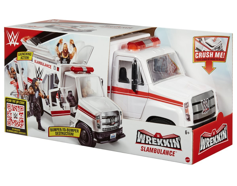 Mattel – WWE Wrekkin' Slambulance Vehicle Pre-Orders