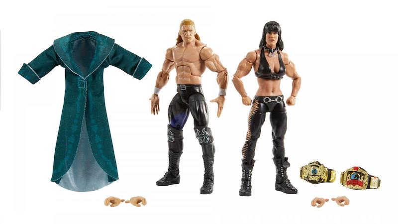 "Mattel – WWE Elite Collection Triple H/Chyna, & Goldberg/Bret ""Hit Man"" Hart Figure 2-Pack Pre-Orders"