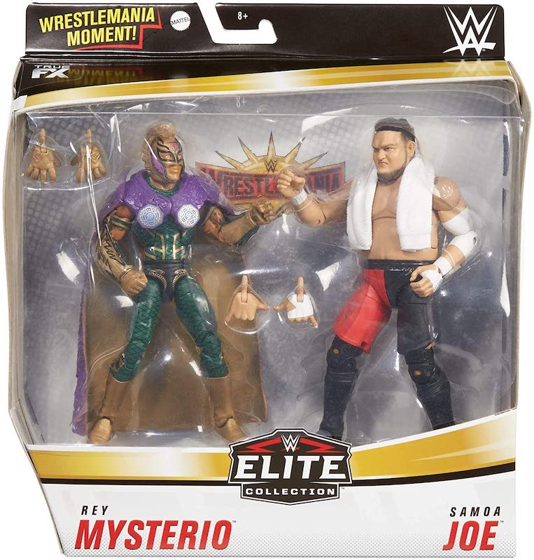 Mattel – WWE Elite Rey Mysterio Vs Somoa Joe Figure 2-Pack Now $29.99 On Amazon