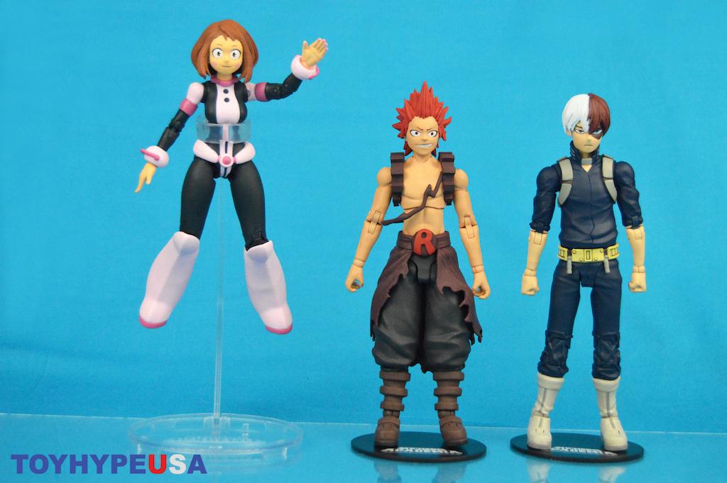 McFarlane Toys – My Hero Academia 7″ Scale Shoto Todoroki, Eijiro Kirishima & Ochaco Uraraka Figures Review