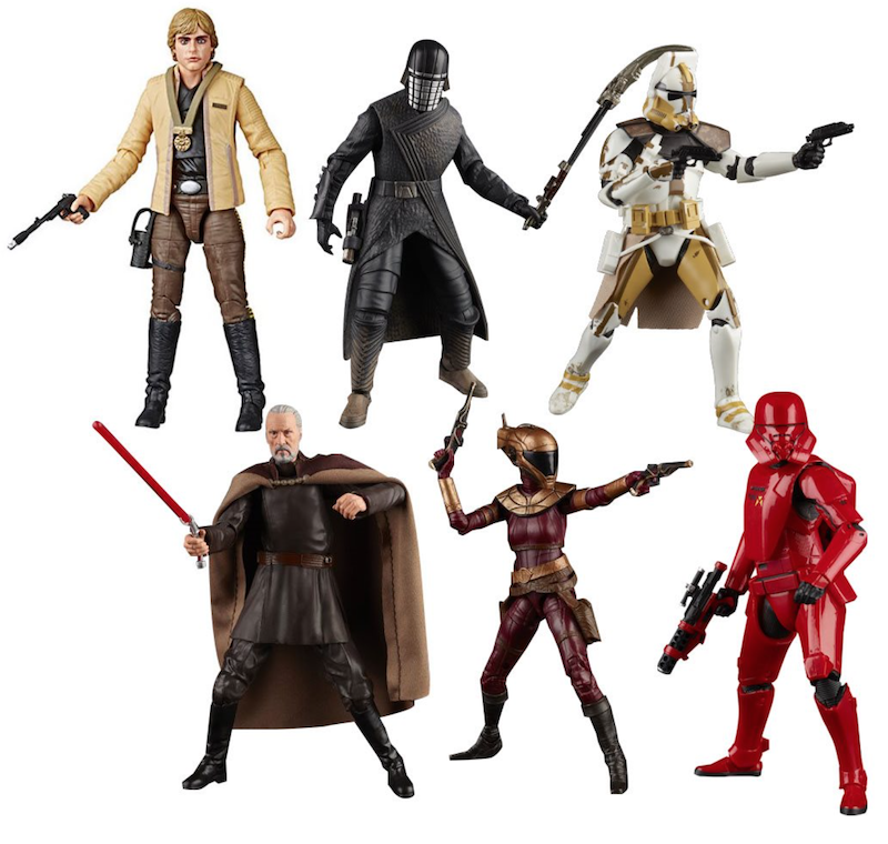 Entertainment Earth – Star Wars The Black Series Count Dooku, Commander Bly Case Assortment In-Stock