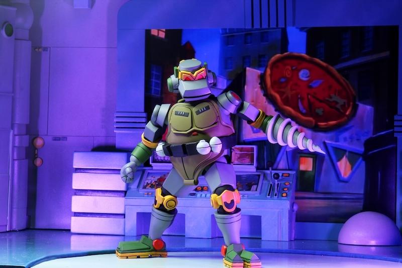 NECA Toys Teenage Mutant Ninja Turtles Cartoon Wave 3 Metalhead Figure Pre-Orders Today