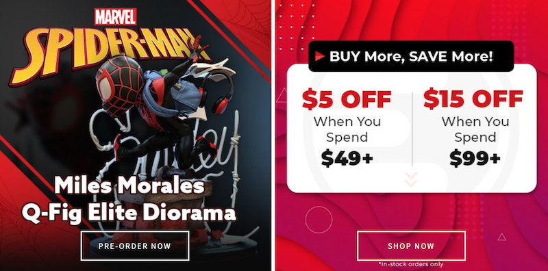 Entertainment Earth – Spider-Man Miles Morales Q-Fig, Funko, $5 & $15 Off In-Stock Sale & More