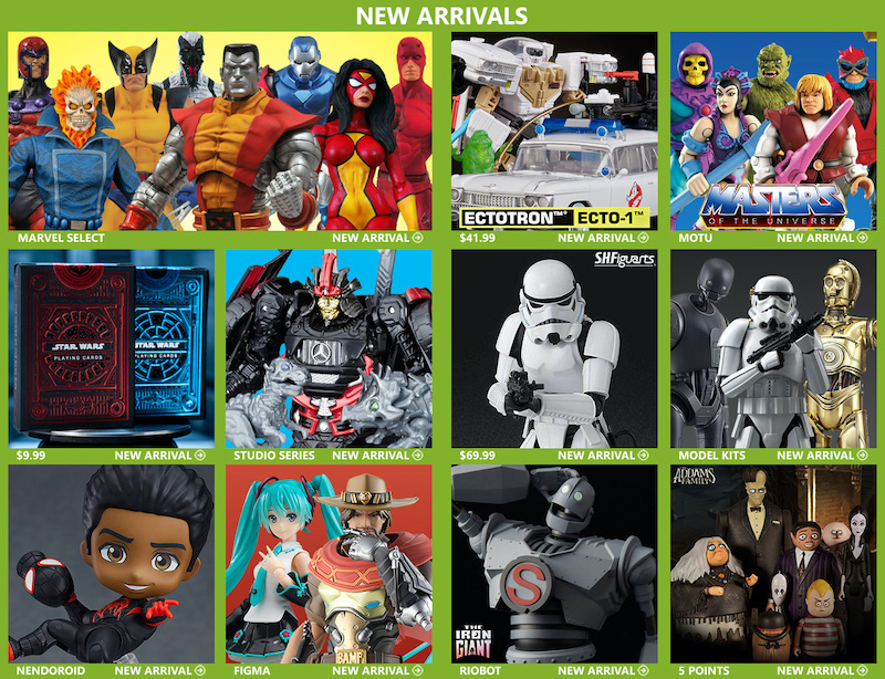 BigBadToyStore – Final Fantasy, LOTR, Marvel, Dragon Ball, Transformers, MOTU, Anime & More