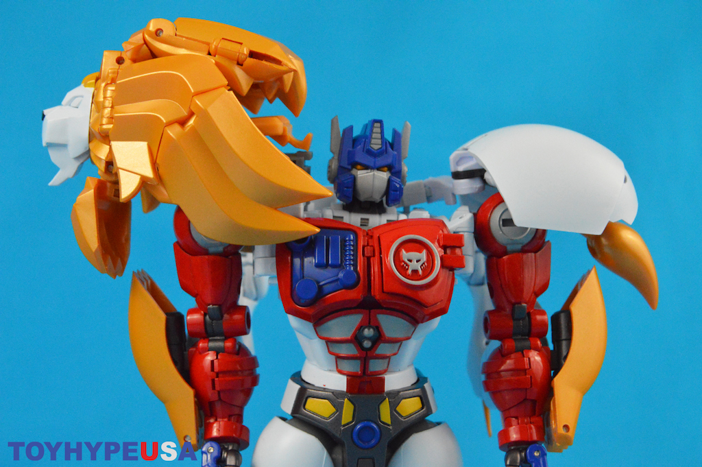 Takara-Tomy Transformers Masterpiece Edition MP-48 Beast Wars II Lio Convoy Figure Review