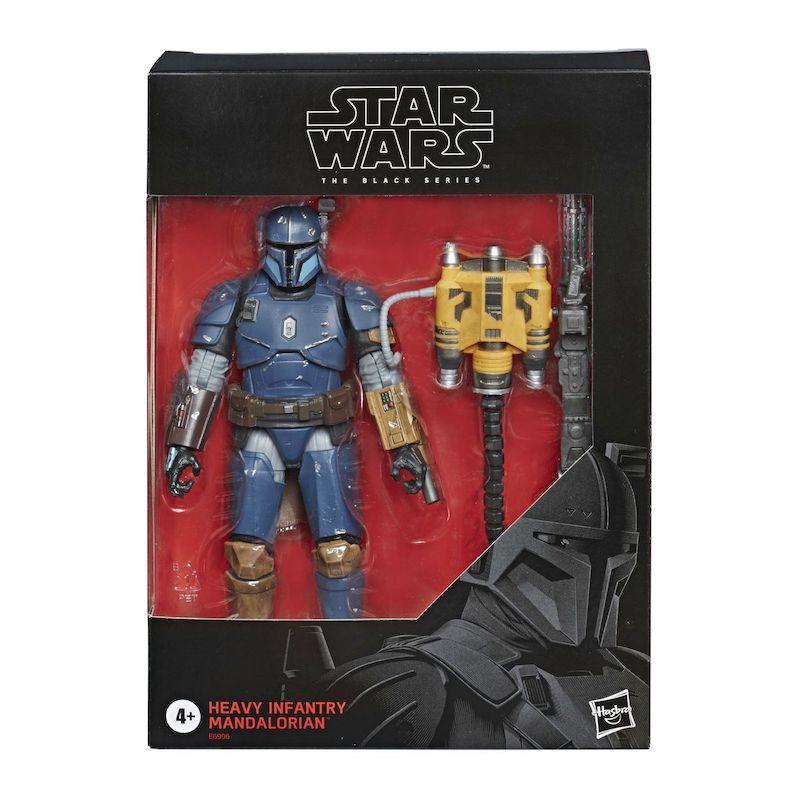 Hasbro Star Wars The Black Series 6″ – The Mandalorian Heavy Infantry Mandalorian Figure Gets Wider Release